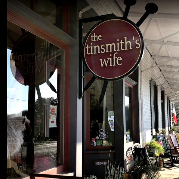 The Tinsmith's Wife, Comfort, Texas USA