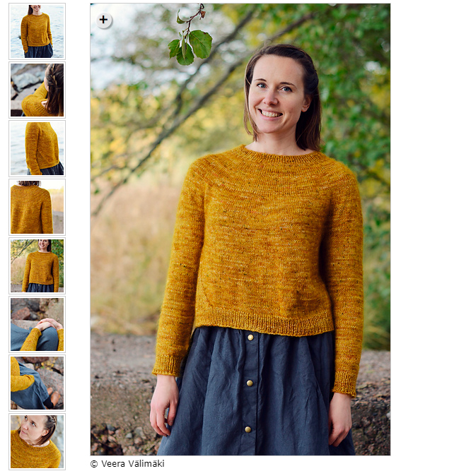 Autumn Gold Sweater Kit